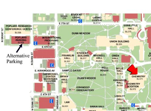 Indiana State University Campus Map 32141 Applestory